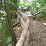 Carpintaria - Guarda corpo Eucalipto