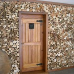 Carpintaria - Parede lenha