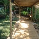 Carpintaria - Passarela em deck